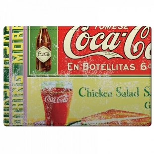 Jogo Americano e Porta Copos 4pc Coca Cola Urban Brasil