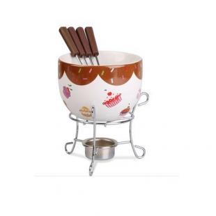 Conjunto Para Fondue 6 Peças Cupcake Brinox