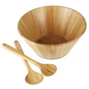 Conjunto Saladeira Bamboo 3 Peças Mor