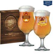 Conjunto Taça Cerveja Happy Hour Panamá Vidro de 400ml 2pcs Ruvolo