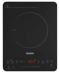 Cooktop Portátil 220v 1 Boca Vitrocerâmico por Indução Tramontina