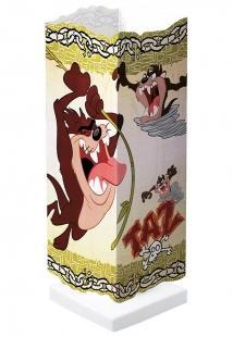 Abajur Infantil Looney Tunes Taz Quadrado Bivolt Startec