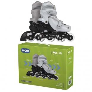 Roller Infantil Cinza Tamanho M 34-37 Mor