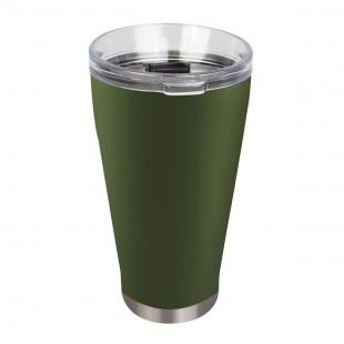 Copo Térmico de Cerveja Verde 700ml Mor