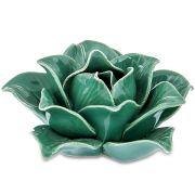 Decor Flor Verde em Cerâmica 7645 Mart