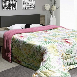 Edredom Cobertor Queen Coberdom Premium Flora Europa