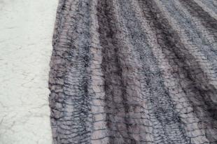 Edredom Sherpa Peles Casal 220x235cm Cinza Hedrons