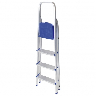 Escada Alumínio 4 Degraus Mor