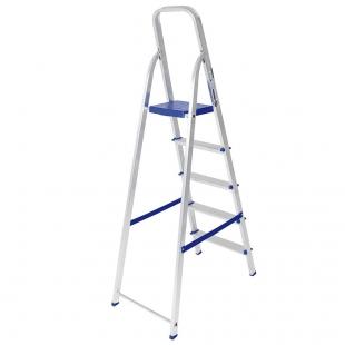 Escada Alumínio 5 Degraus Mor