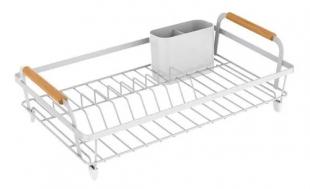 Escorredor de Louças Metalla Branco 44x31,7 Yoi