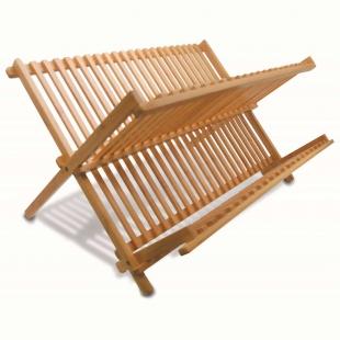 Escorredor de Pratos 46x34x23,5cm Bambu Yoi