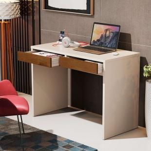 Escrivaninha Luxo Perola/Caramelo 6080 JB Bechara