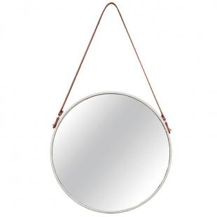 Espelho de Parede Off White em Metal 7974 Mart