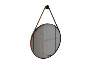 Espelho Onix 70x70 cm Preto Fosco Rudnick