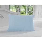 Fronha 50x70 100% Algodão Azul Claro Soft