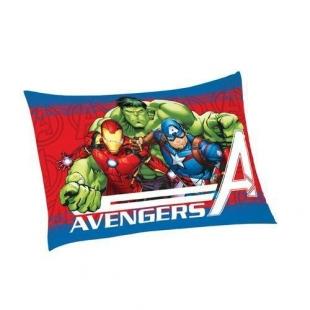 Fronha Avulsa Estampada Avengers 50x70cm Azul Lepper