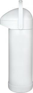 Garrafa Térmica Pressão 1 Litro Nobile Branca Mor