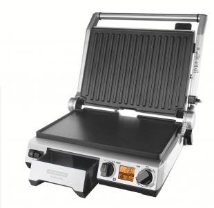 Grill Elétrico Breville Smart Inox Display LCD 127V Tramontina