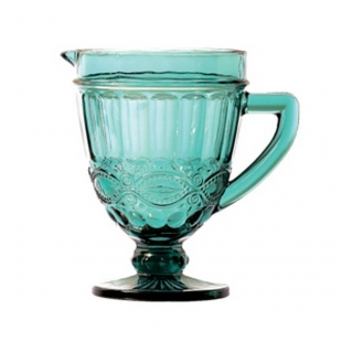 Jarra Libelula 1 litro Vidro Azul Tiffany Lyor