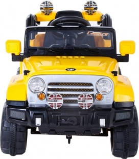 Jipe Elétrico com Controle Remoto 12v Amarelo Belfix