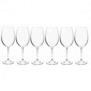 Jogo 6 Taças Cristalite 450ml Vinho Tinto Gastro Etilux
