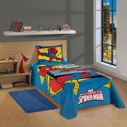 Jogo de Cama Solteiro 3 peças Spider-Man 1,50x2,10 Lepper