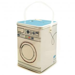 Lata com Alça e Tampa Washing Machine Yoi