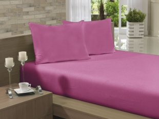 Lençol Avulso Solteiro 135x240 Rosa Pink Soft