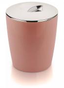Lixeira Cromo Vitra 5 Litros Rosa LX 550 OU