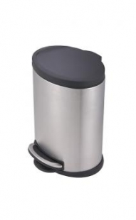 Lixeira Onix inox 12L Mor