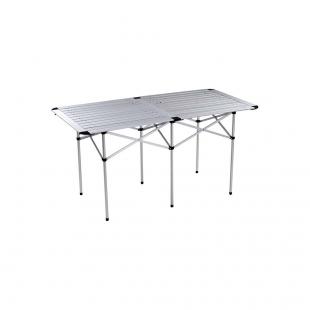 Mesa Dobravel Aluminio Andorra 140 x 69,5 Mor