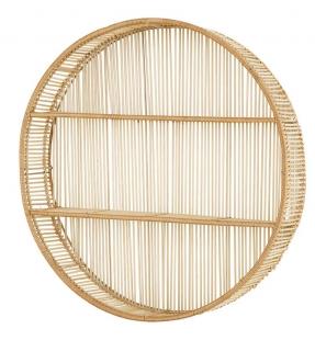 Nicho com Prateleiras em Bambu 13113 Mart