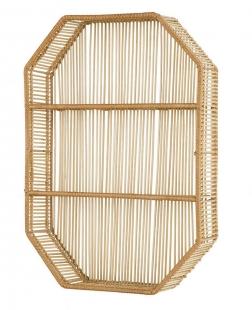Nicho com Prateleiras em Bambu 13114 Mart
