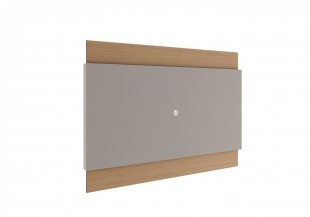 Painel 2,20m Lens Fit Natural/Off White Rudnick