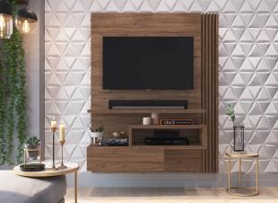 Painel Para Tv Est101 1,35 1 Porta Madeirado Estilare Móveis