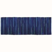 Passadeira de Cozinha 50x160cm Tyft Azul Yoi