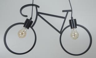 Pendente Bicicleta Preta Hugy