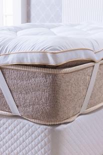 Pillow Top Toque de Plumas King Branco Niazitex