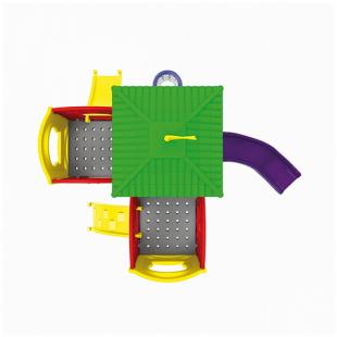 Playground Modular Star Com Cesta de Basquete Xalingo