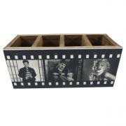 Porta Controle e Objetos Estrelas de Hollywood Vintage Concept