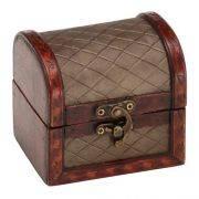Porta Jóias Little Box Marrom Mabruk