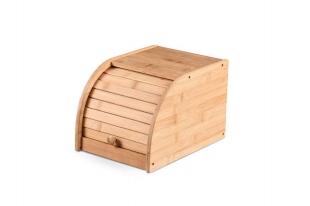 Porta Pães Bambu Com Tampa De Correr 27x20x18 Yoi