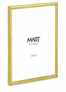 Porta Retrato 20x25 Dourado em Metal 12521 Mart
