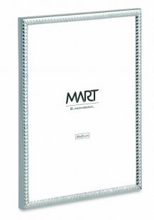 Porta Retrato 20x25 Prata em Metal 12524 Mart