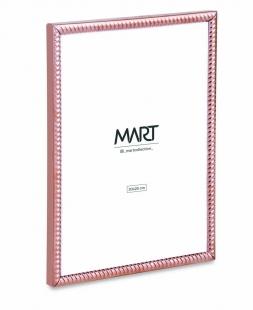 Porta Retrato 20x25 Rose Gold em Metal 12527 Mart