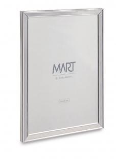 Porta Retrato Prata em Metal 15x20 cm 11260 Mart