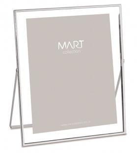 Porta Retrato Prata em Metal 20x25 cm 9111 Mart