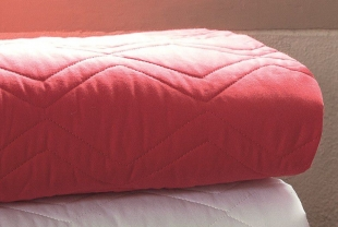 Porta Travesseiro Innovi 50x70cm Vermelho Kacyumara