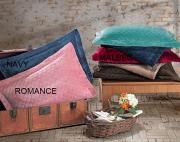Porta Travesseiro Plush Inove Liso Matelassado 55 x 80 cm Malbec Hedrons