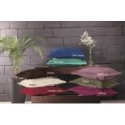 Porta Travesseiro Plush Matelassado 50x70 Vermelho Laca Hedrons